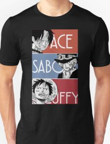 ASL - Ace Sabo Luffy - Brothers  T-Shirt