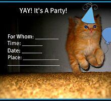 Yay! It's A Party! Invitation~ by AngieBanta