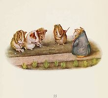 Cecily Parsley's Nursery Rhymes Beatrix Potter 1922 0057 Guinnea Pigs We Love Our Little Garden by wetdryvac