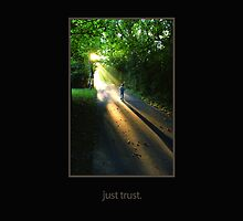 just trust. (tone on tone, transparent for fabric) by seyoung9