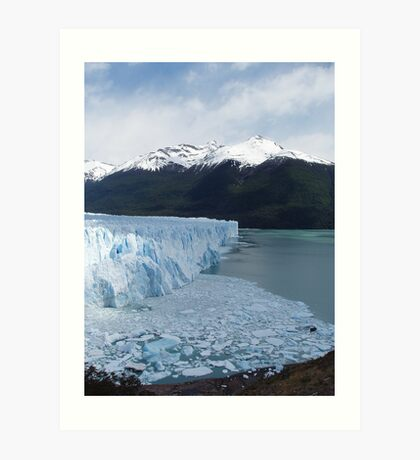 The Perito Moreno Glacier Art Print