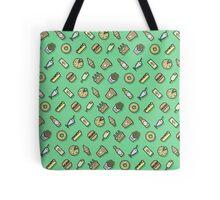 Food pattern vector Tote Bag