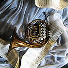 French Horn Magic by nadinecreates