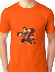 Diddy and donkey kong Unisex T-Shirt