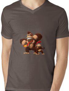 Diddy and donkey kong Mens V-Neck T-Shirt
