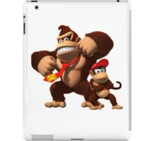 Diddy and donkey kong iPad Case/Skin