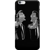 Pulp Fiction Simpsons iPhone Case/Skin