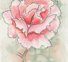 Pale pink rose by Troglodyte
