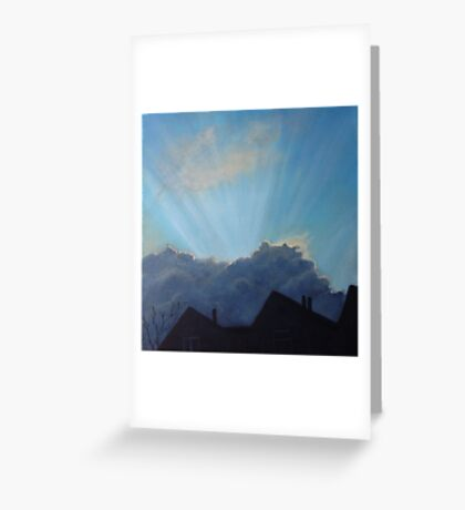 Will it pass us by? Greeting Card