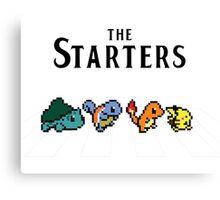 Pokemon starters - Beatles parody  Canvas Print