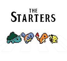 Pokemon starters - Beatles parody  Photographic Print