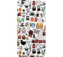 Chibi Harry Potter Doodle iPhone Case/Skin