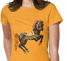 Spirit Horse  Womens Fitted T-Shirt
