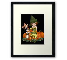 The Witch, The Cat, The Spider  Framed Print