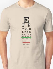 eye test T-Shirt