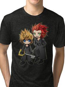 Roxas and Axel - Kingdom Hearts Tri-blend T-Shirt
