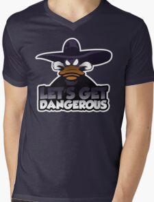 Let's get dangerous Mens V-Neck T-Shirt