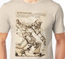 Royal Lilliputians Nothing But Fun vintage show poster Unisex T-Shirt
