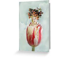 La Tulipe Greeting Card