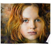 Portrait of a Young Girl Poster