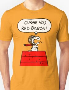 Snoopy vs Red Baron T-Shirt