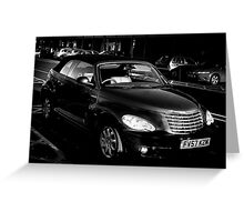 pt cruiser Greeting Card
