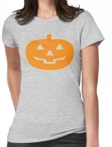 Silver Shamrock Pumpkin Collection Womens Fitted T-Shirt