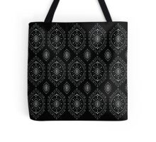 Black and White Design Tote Bag