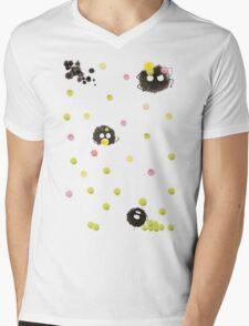 Susuwatari Mens V-Neck T-Shirt
