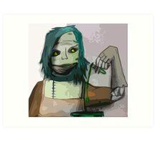 The Undead Alchemist Art Print