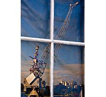 Window Crane Photographic Print