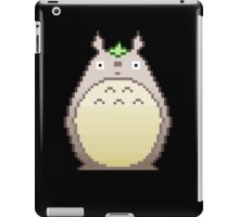 Pixel neighbor -black- iPad Case/Skin
