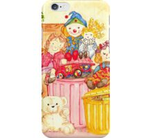 Teddy and Toys iPhone Case/Skin