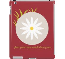 Plant Your Trees iPad Case/Skin