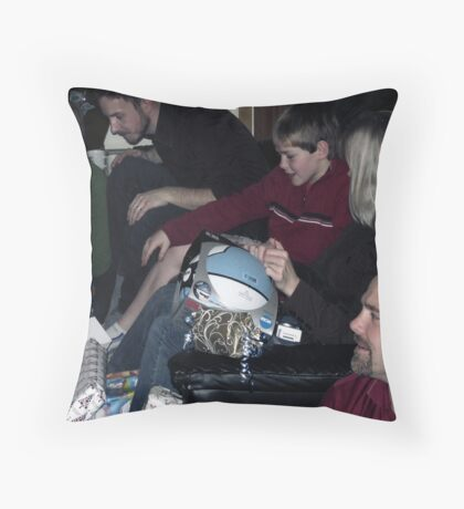 Our Last Christmas Together Until Your Return Throw Pillow