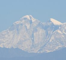 Himalayan Mountain from Nepal Side by SkiCC