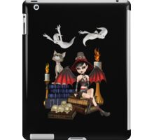 The Witch, The Cat and The Ghosts  iPad Case/Skin