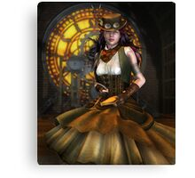 Victorian Clockwork Canvas Print