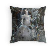 Miss Havisham - Dickens Throw Pillow