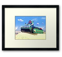 Toy Space Tank Framed Print