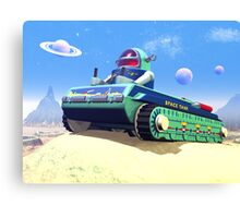 Toy Space Tank Canvas Print
