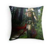 The Elven Watcher Throw Pillow