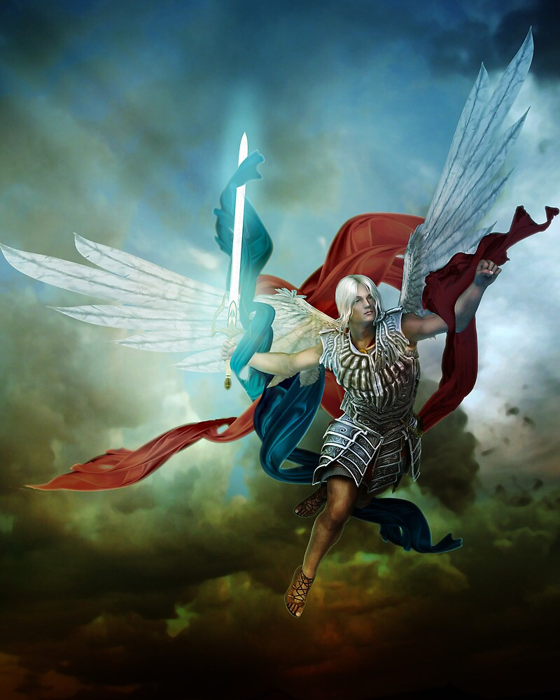 Archangel Michael by InertiaK