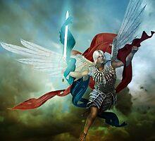 Archangel Michael by InertiaK