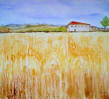 Wheat Fields by Sandrine Pelissier
