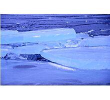 Ice floe Photographic Print