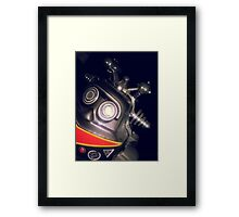 Retro Toy Robot Framed Print