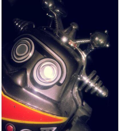 Retro Toy Robot Sticker