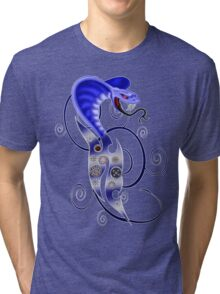 Steam Punk Snake  Tri-blend T-Shirt