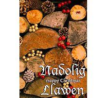 Nadolig Llawen - Happy Christmas Photographic Print